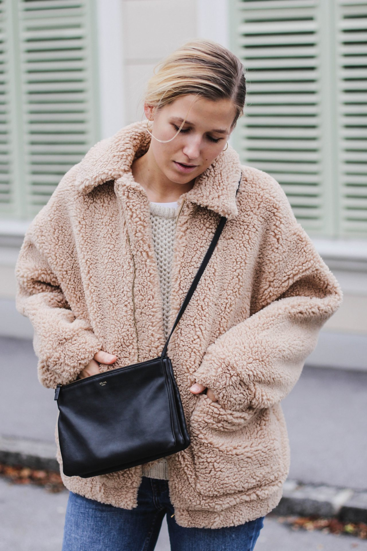 Teddy Fur Coat H M Tradingbasis